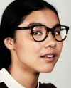 Lola round acetate glasses in Tiger Wood by Ace & Tate