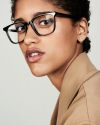 Nelson rectangle acetate glasses in Black Forest by Ace & Tate