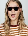 Alfred square acetate glasses in Hazelnut Tortoise by Ace & Tate