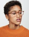 Easton rund Acetat glasses in Sunset by Ace & Tate