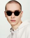 Monty round acetate glasses in Indian Summer by Ace & Tate