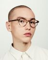 Pierce round acetate glasses in Taupe Tortoise by Ace & Tate