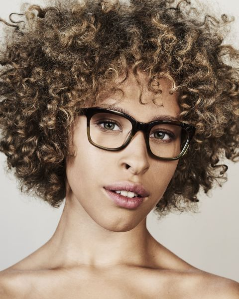 David quadratisch Acetat glasses in Hunter Green by Ace & Tate