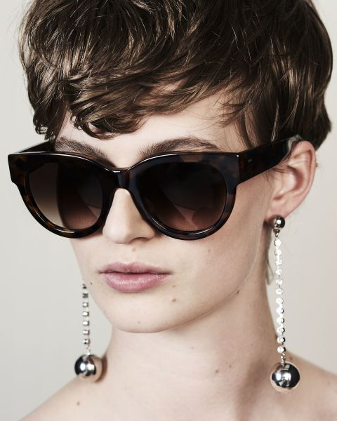 Heather rund Acetat glasses in On the Rocks by Ace & Tate