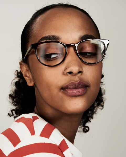 Damien ronde acétate glasses in Tiger Wood by Ace & Tate