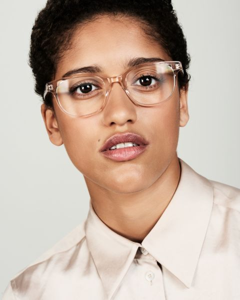 Finn rectangle acetate glasses in Fizz by Ace & Tate