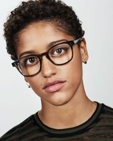 Alfred square bio acetate glasses in Botanical Haze by Ace & Tate