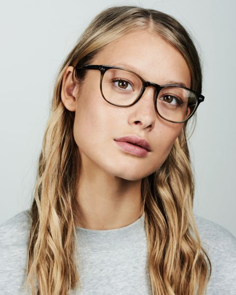Saul rund Bio-Acetat glasses in Botanical Haze by Ace & Tate
