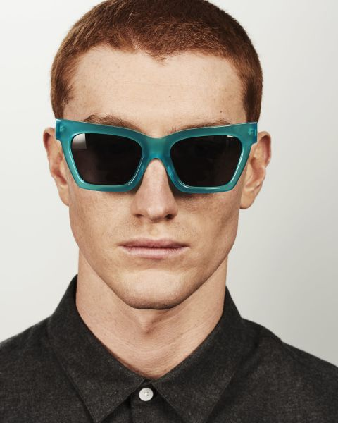 Grace rectangle acetate glasses in Bora Bora by Ace & Tate