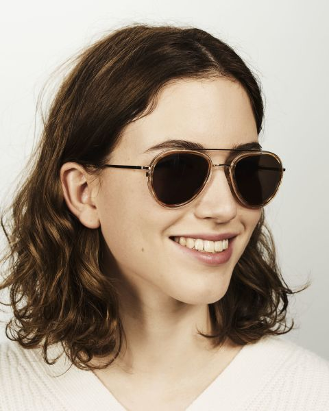 Quentin rund Verbund glasses in Soft Breeze by Ace & Tate