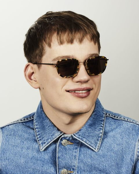 Ringo carrée combinaison glasses in Chameleon by Ace & Tate