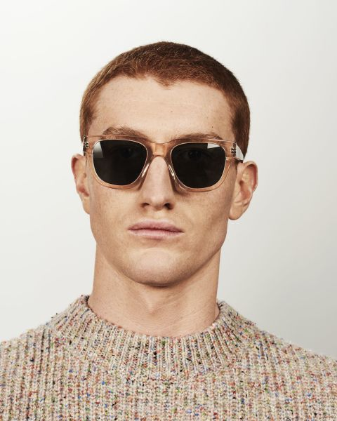 Harry rond acetaat glasses in Fizz by Ace & Tate
