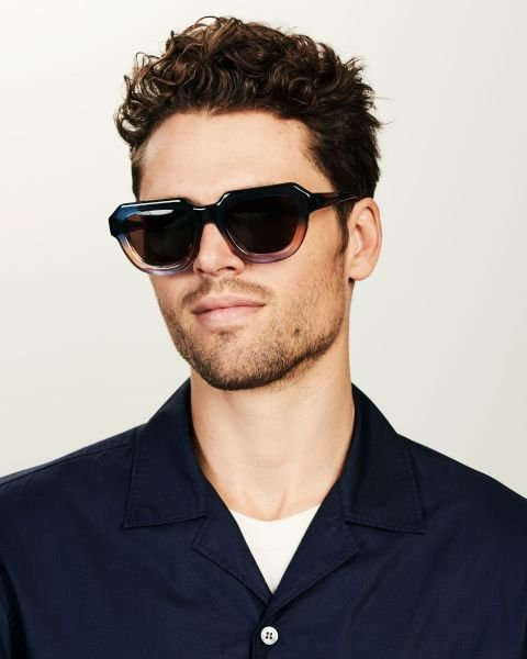 Blake rund Acetat glasses in Twilight by Ace & Tate