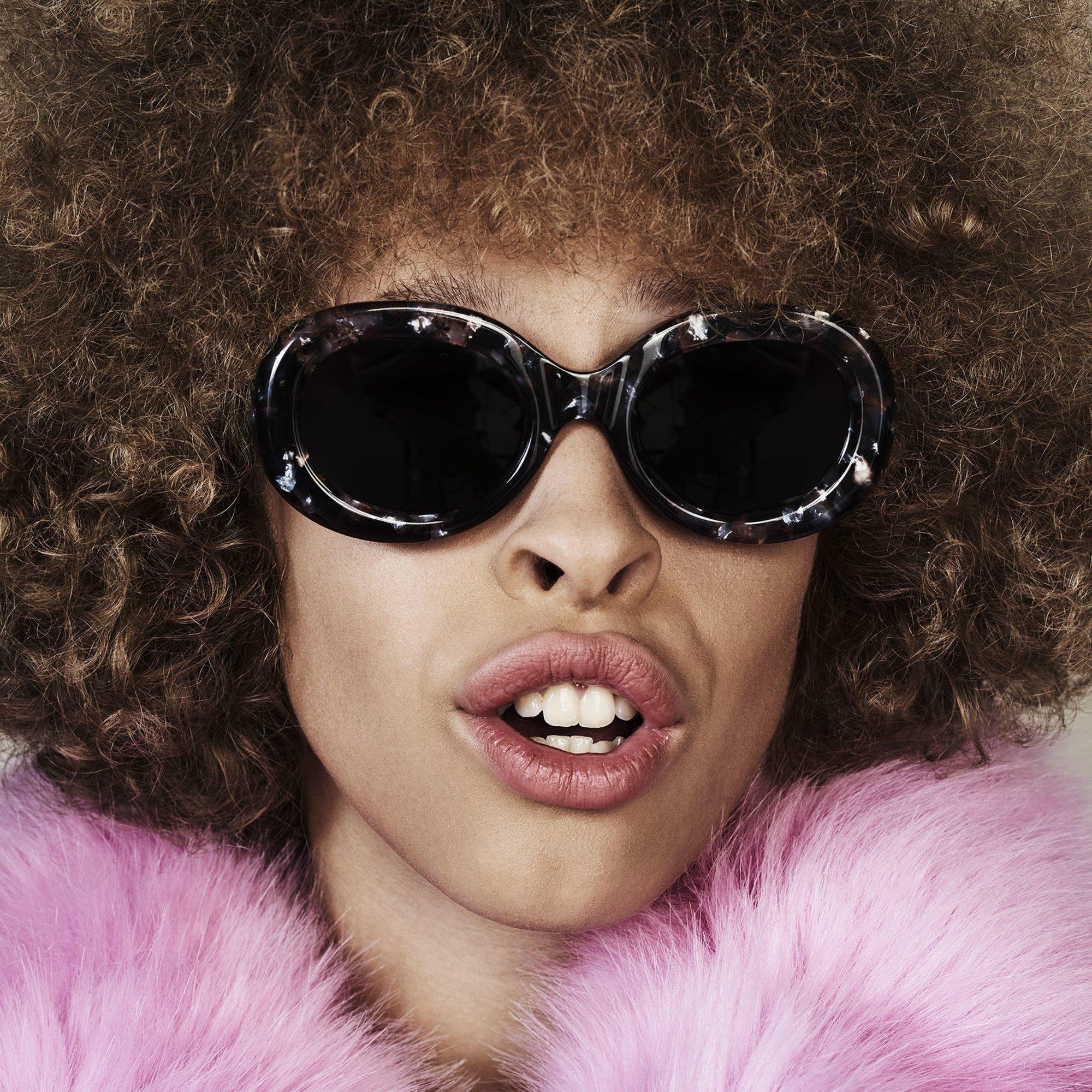 Ace & Tate Sunglasses |  Acetat in Braun, Pink