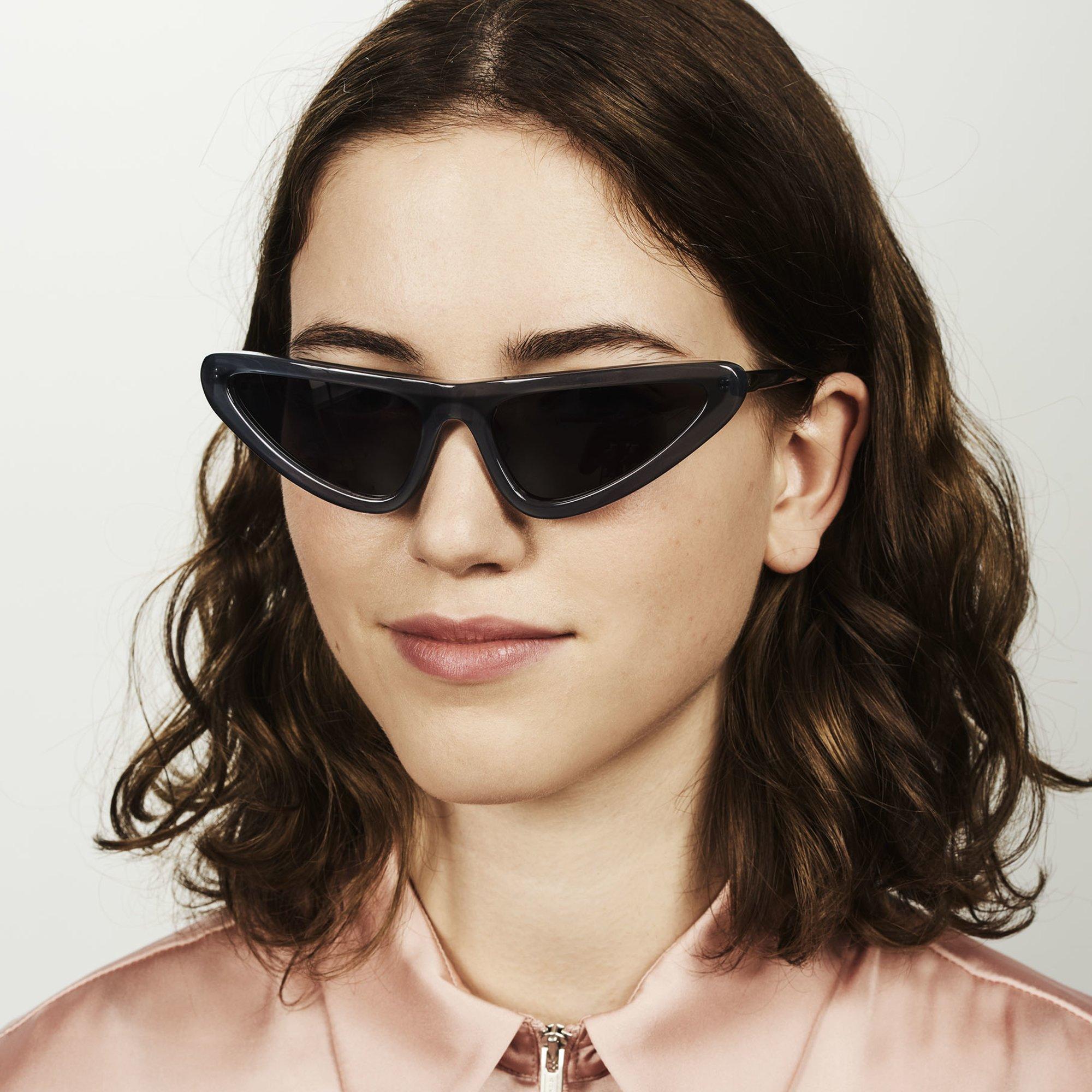 Ace & Tate Sunglasses |  acetate in Blue, Grey