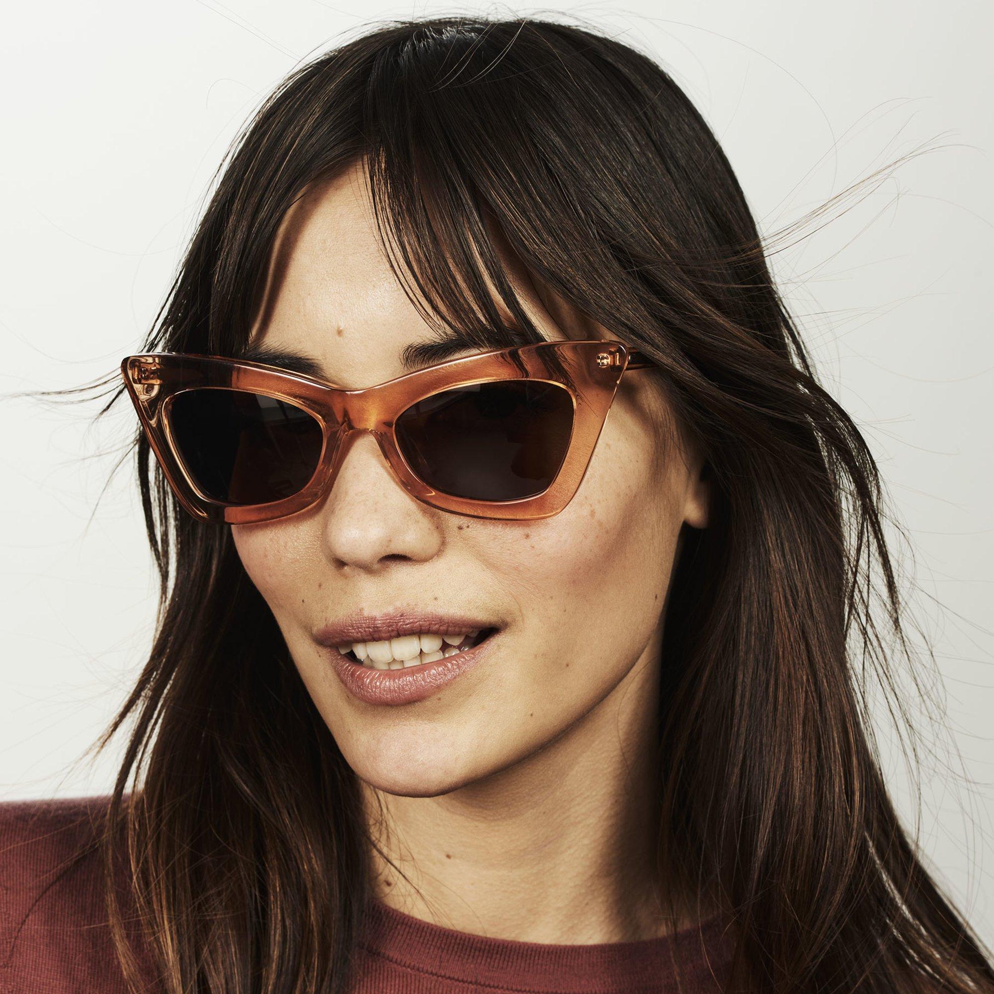 Ace & Tate Sunglasses |  acetate in Orange