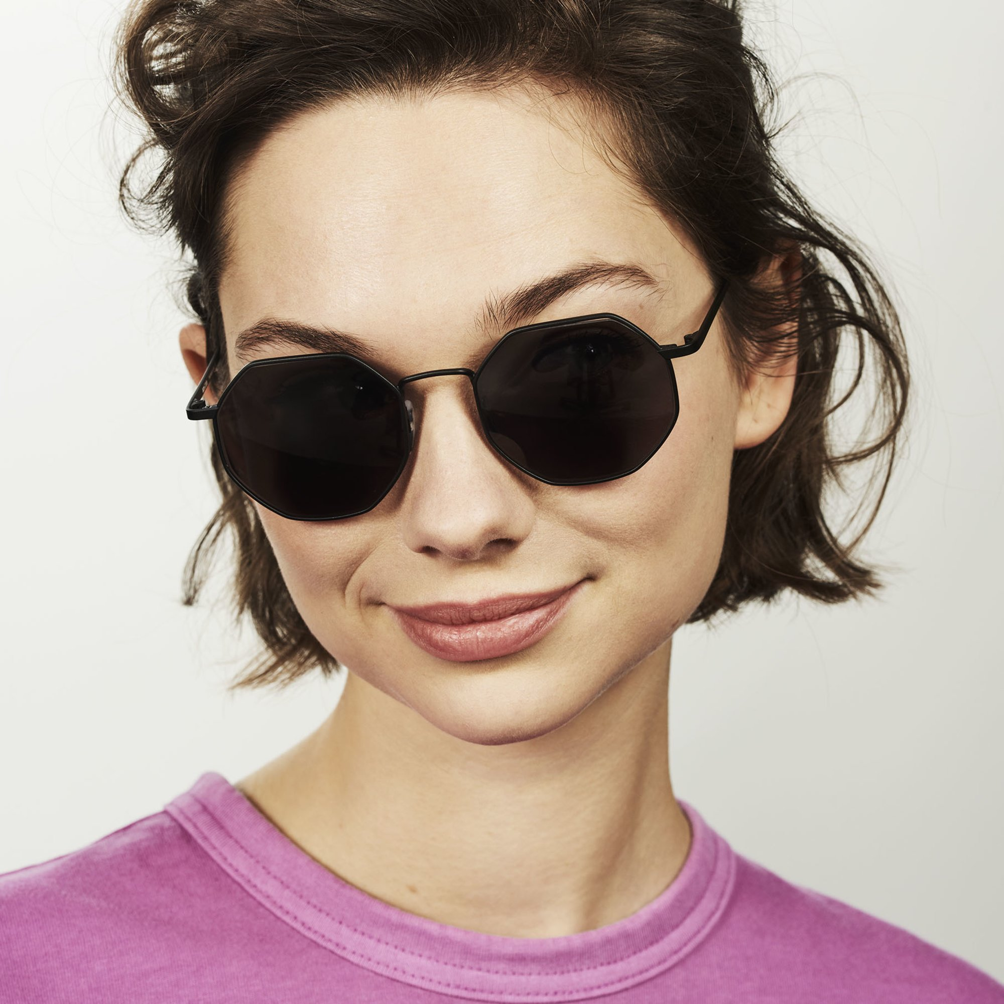 Ace & Tate Sunglasses |  Metall in Schwarz