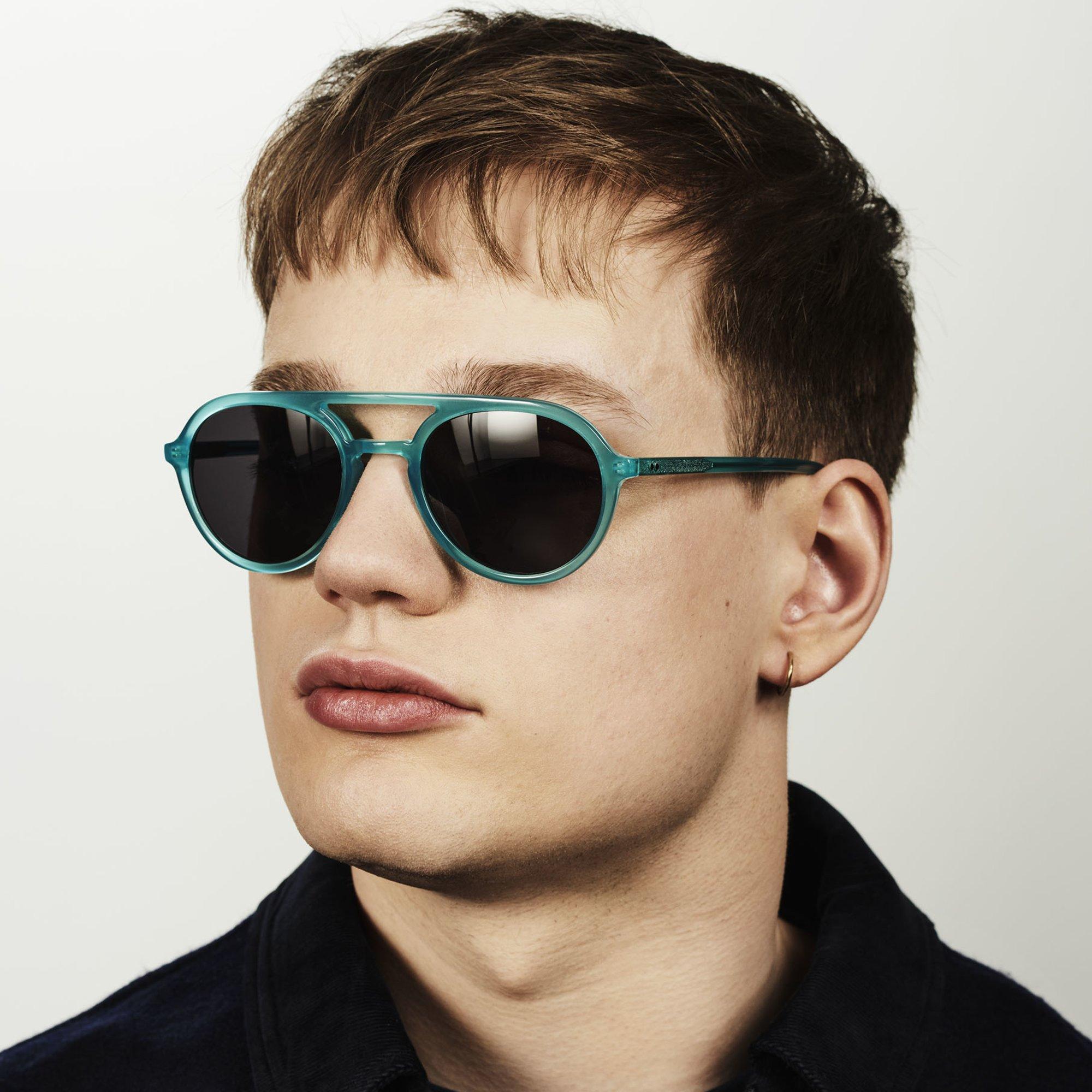 Ace & Tate Sunglasses |  acetate in Blue, Green