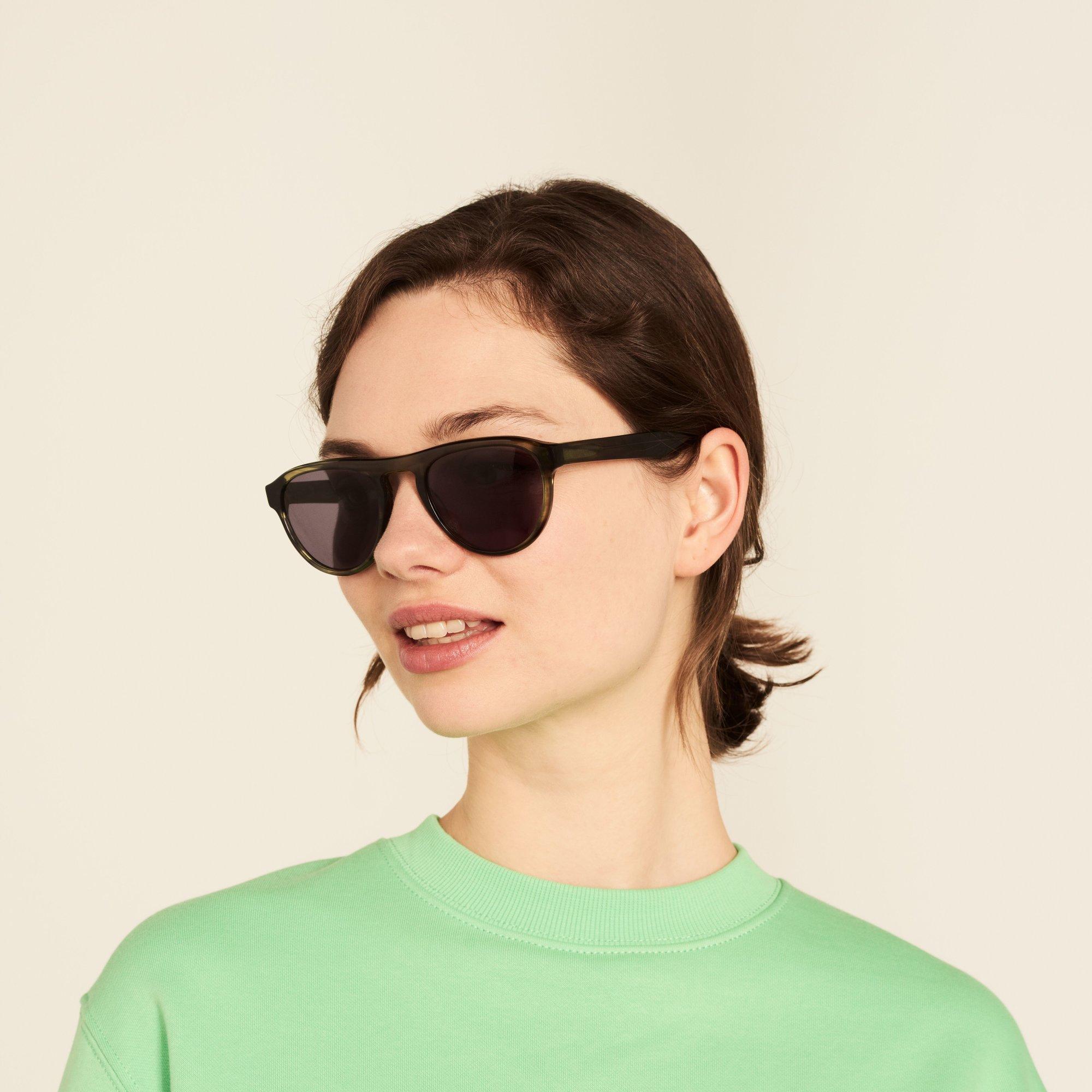 Ace & Tate Sunglasses |  acetate in Green