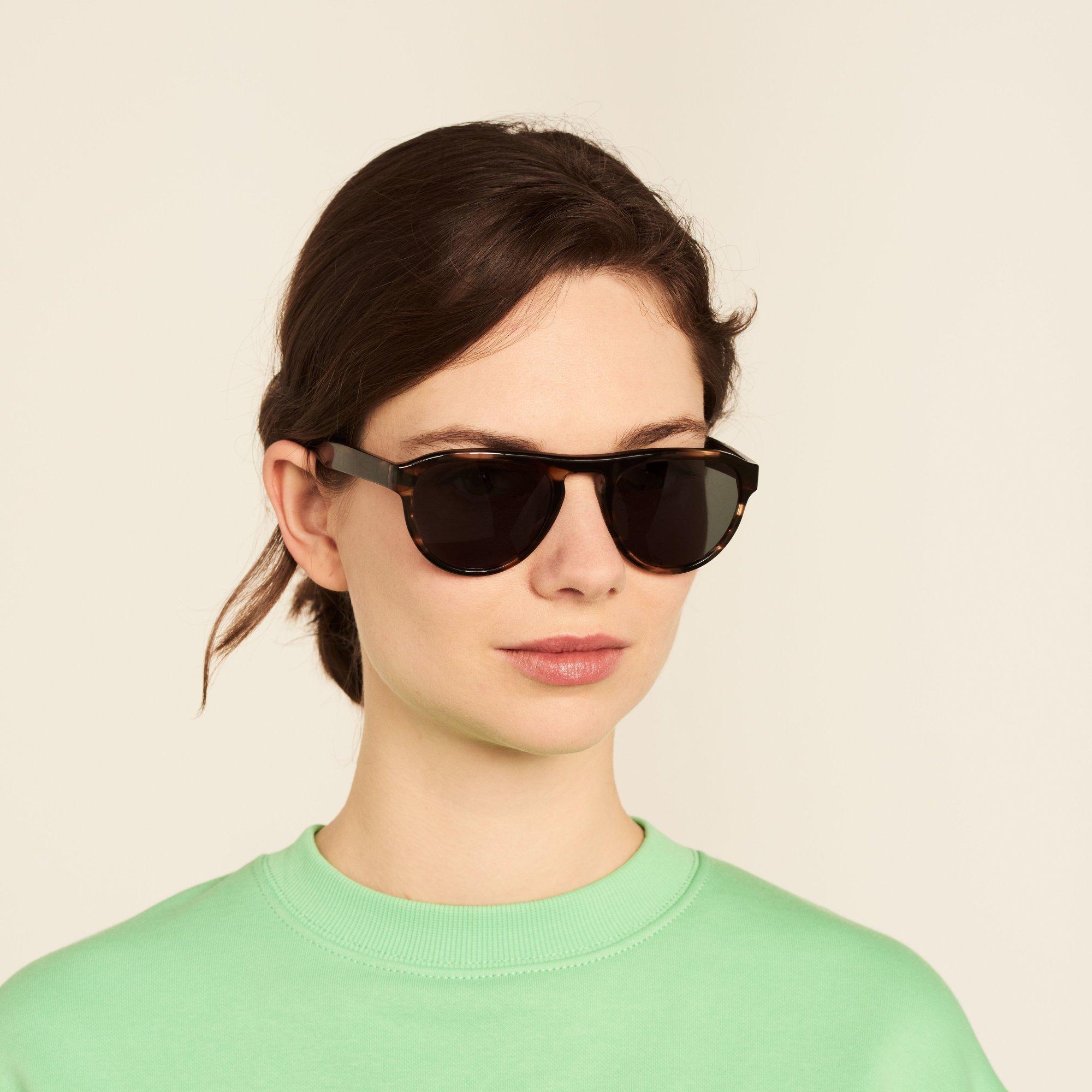 Ace & Tate Sunglasses    acetate in Brown, Orange