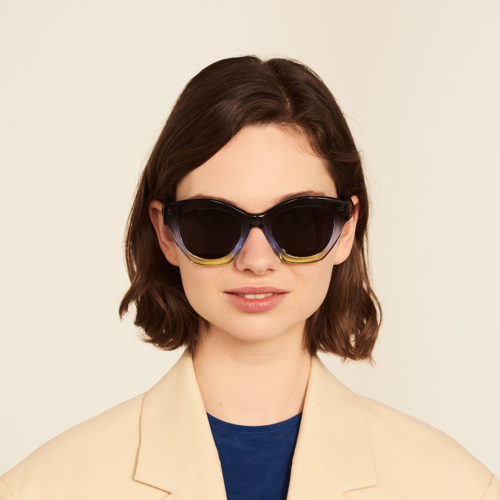Ace & Tate Sunglasses |  acetate in Blue, Yellow