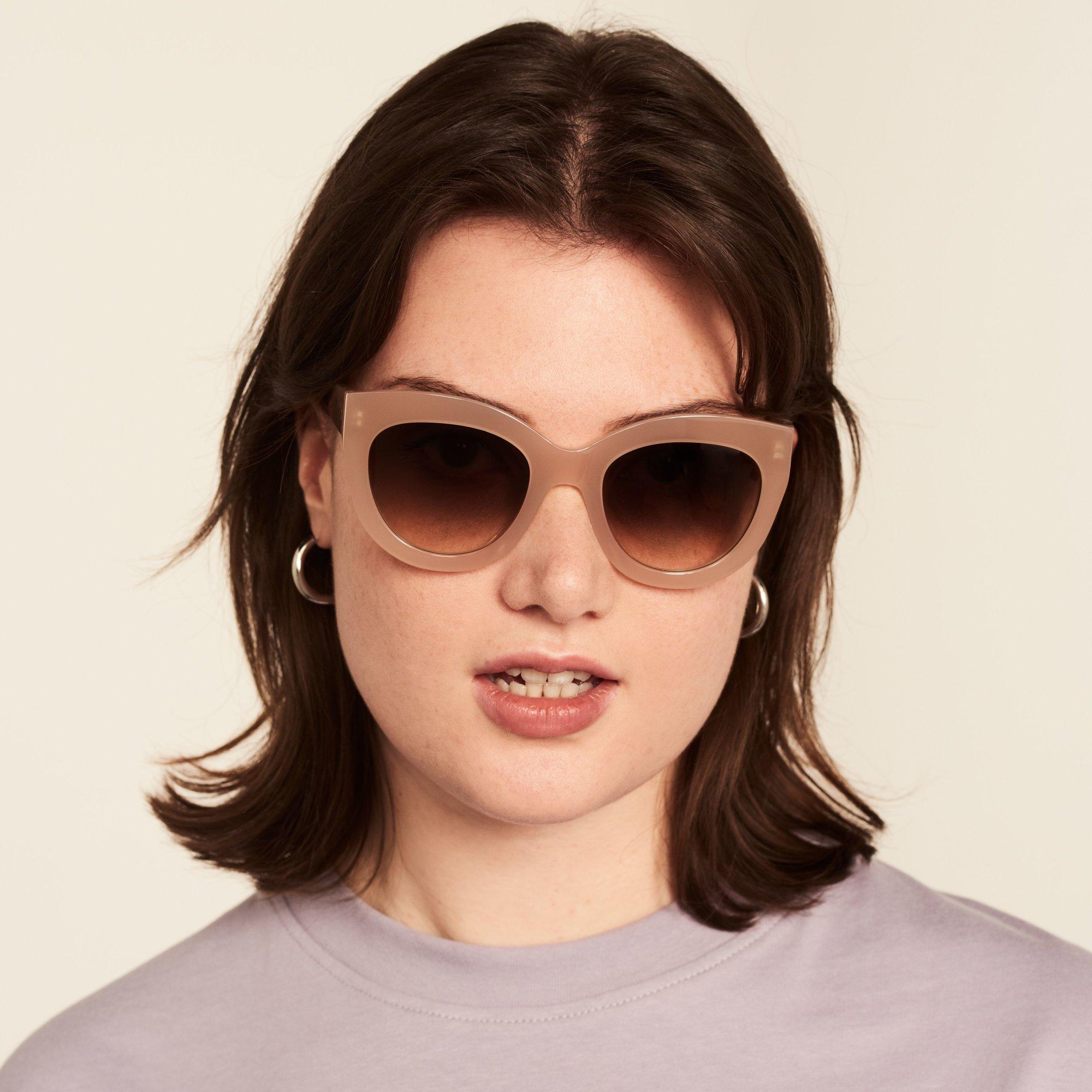 Ace & Tate Sunglasses |  acetate in Beige