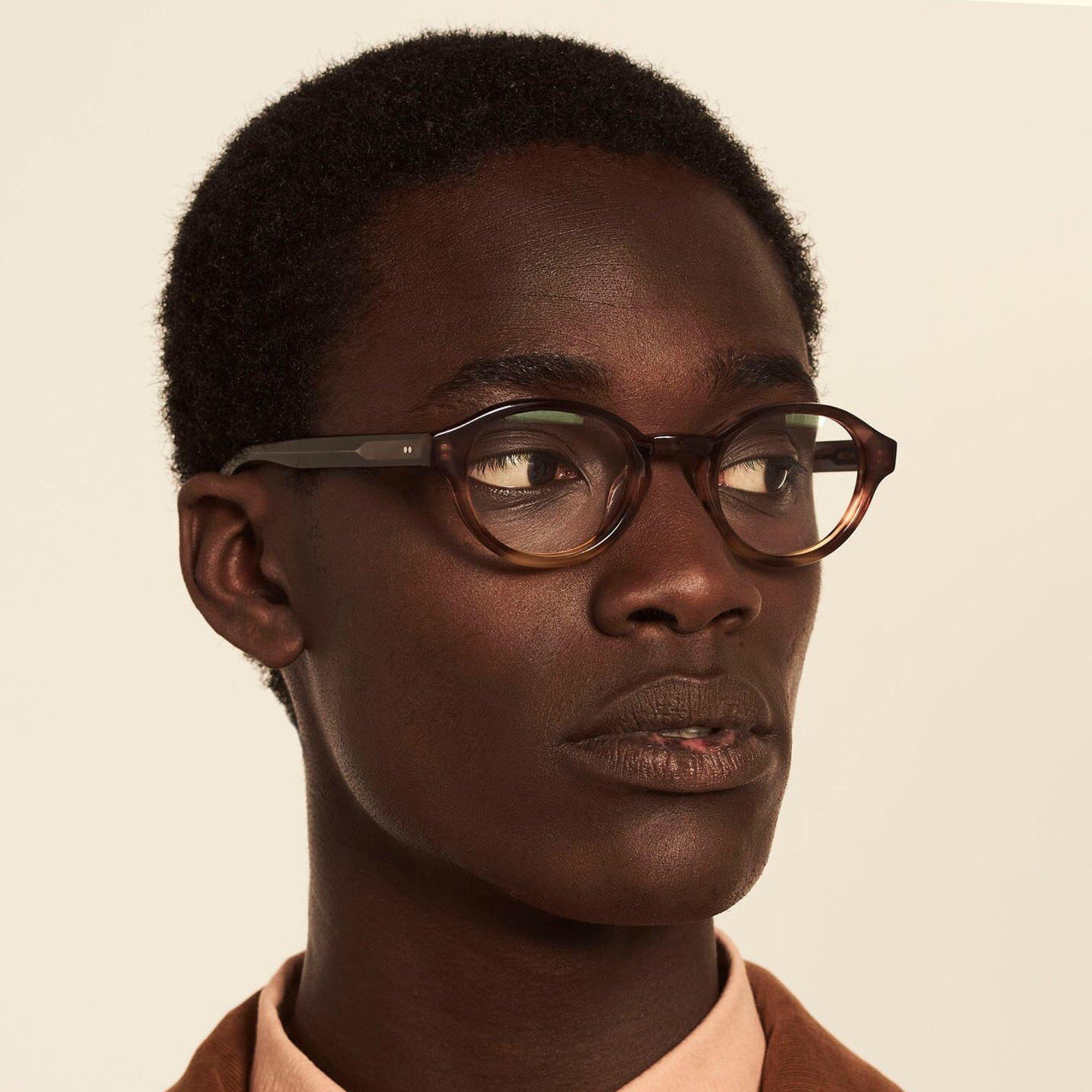 Ace & Tate Glasses |  acetate in Grey, Brown, Orange