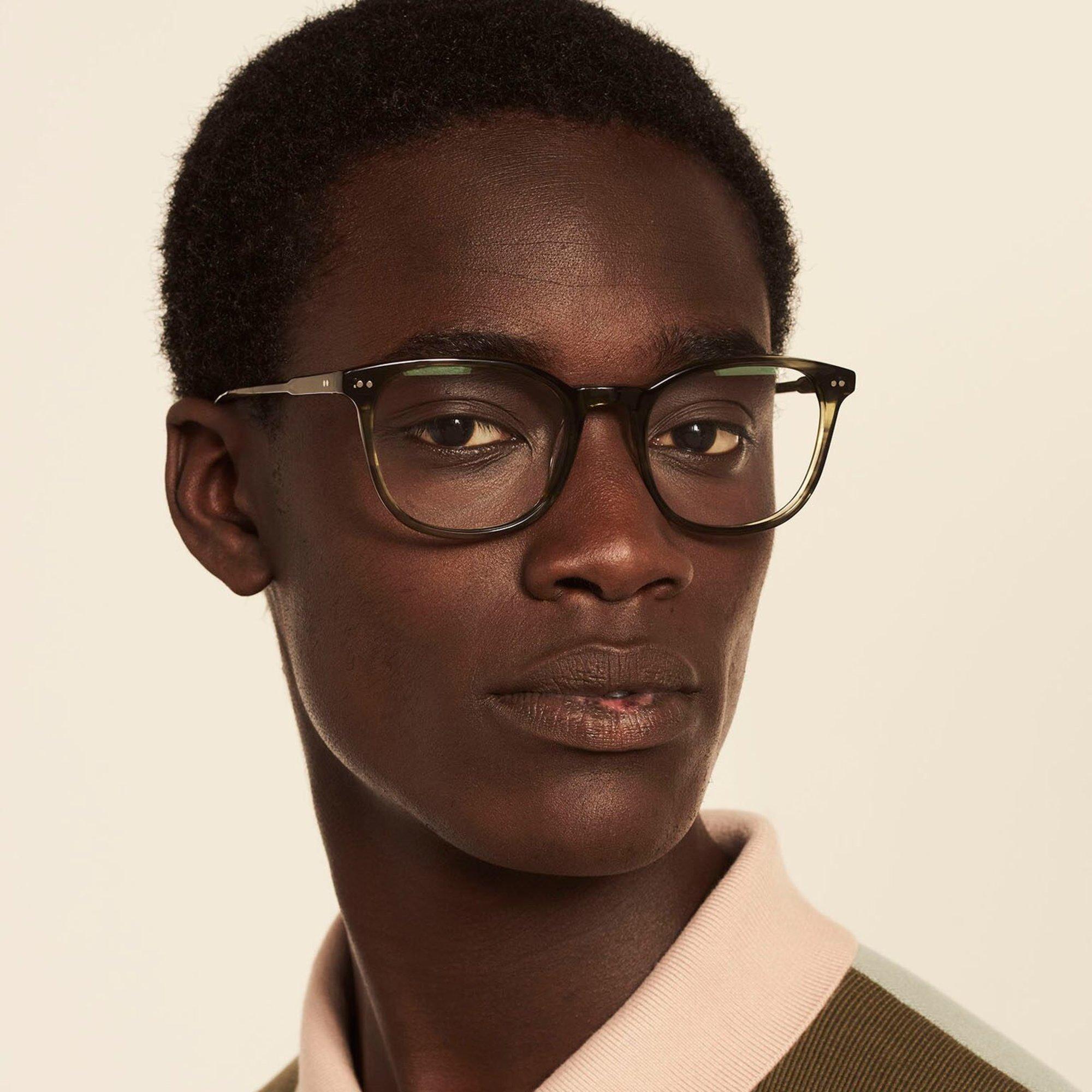 Ace & Tate Glasses | rund Acetat in Grün