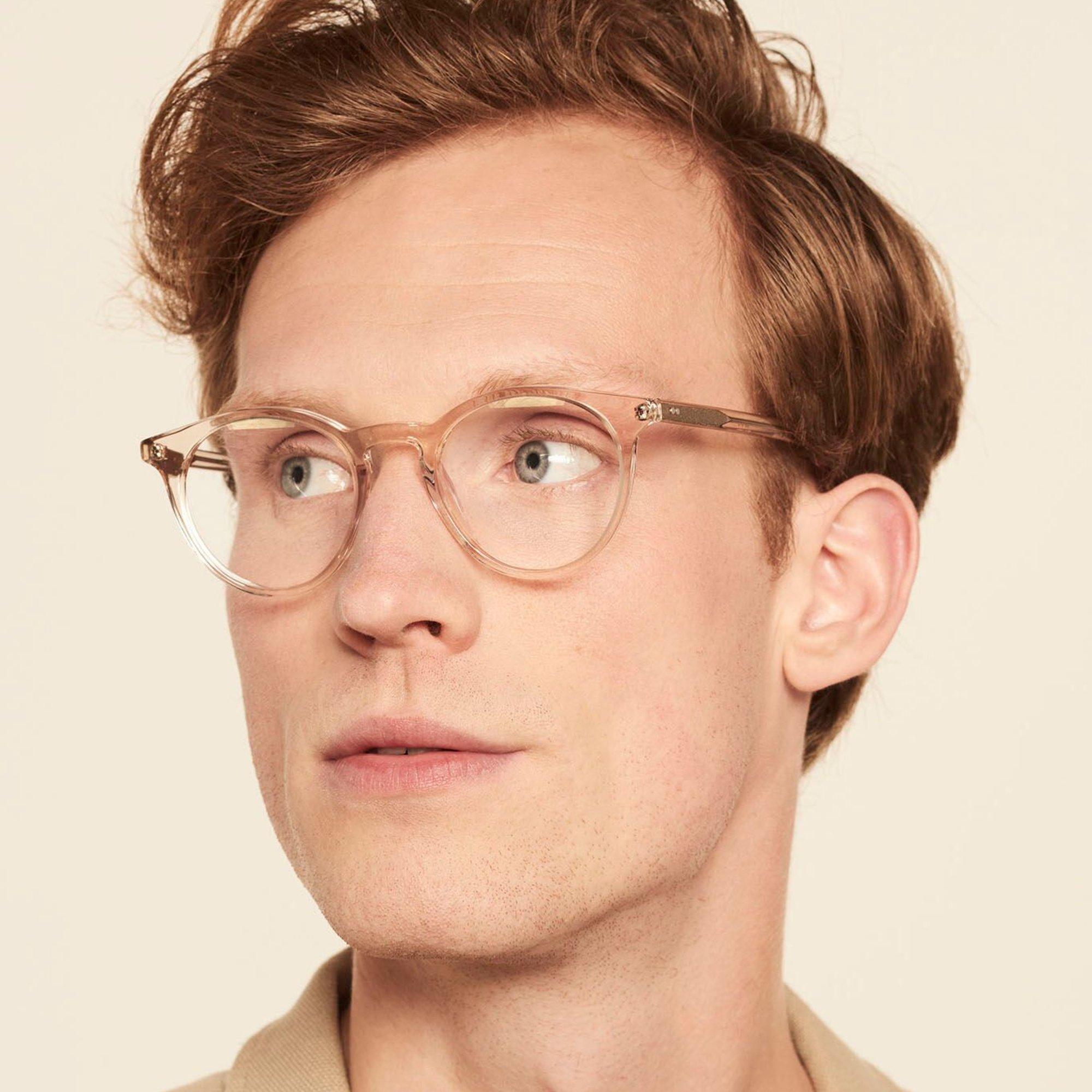 Ace & Tate Glasses | rund Acetat in Transparent, Grau