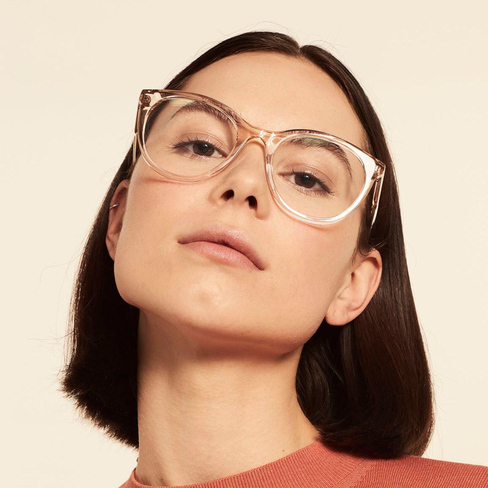 Ace & Tate Glasses |  acetate in Clear