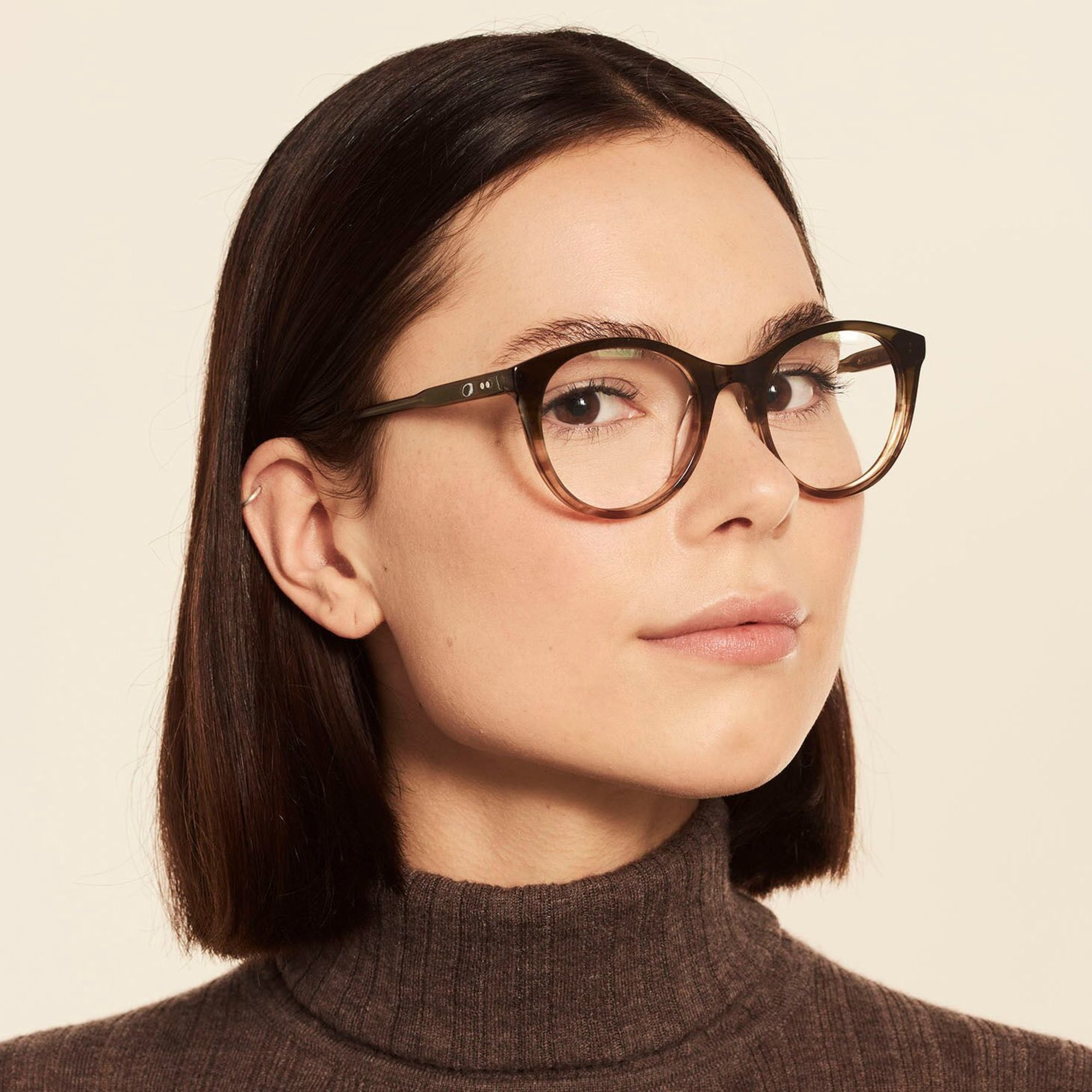 Ace & Tate Glasses |  acetate in Green, Brown