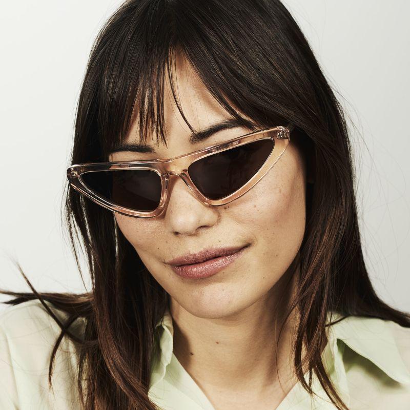 Ace & Tate Sunglasses |  acetate in Clear