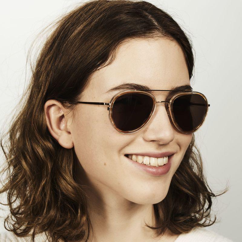 Ace & Tate Sunglasses |  combi in Blue, Brown