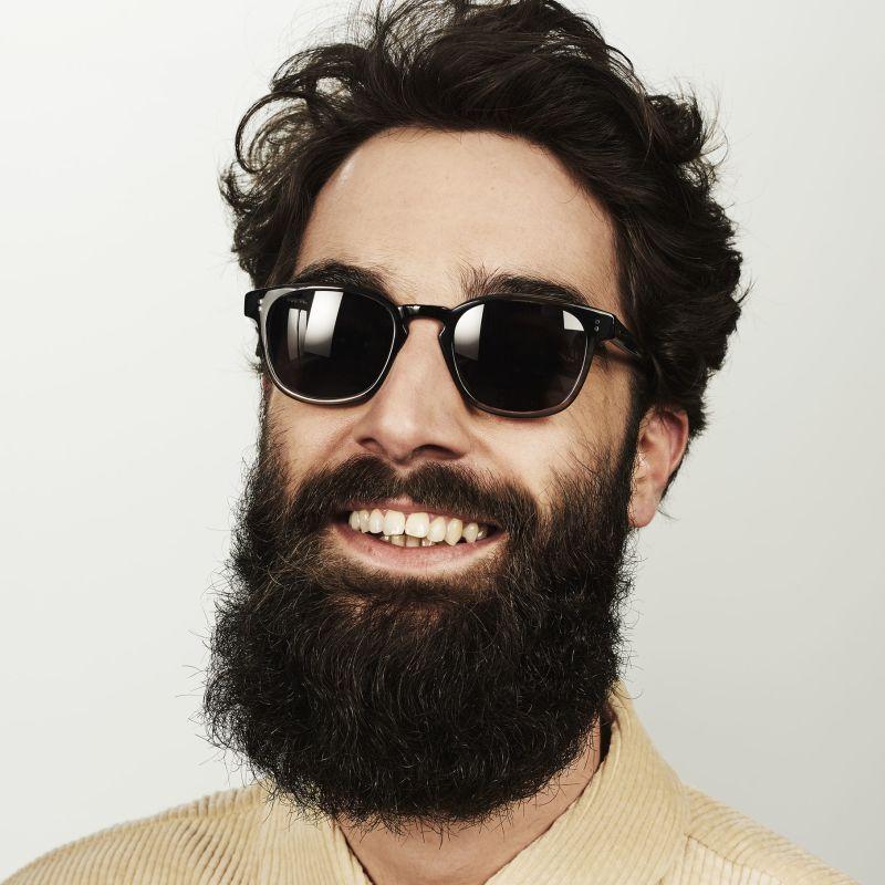 Ace & Tate Sunglasses | quadratisch Acetat in Grün