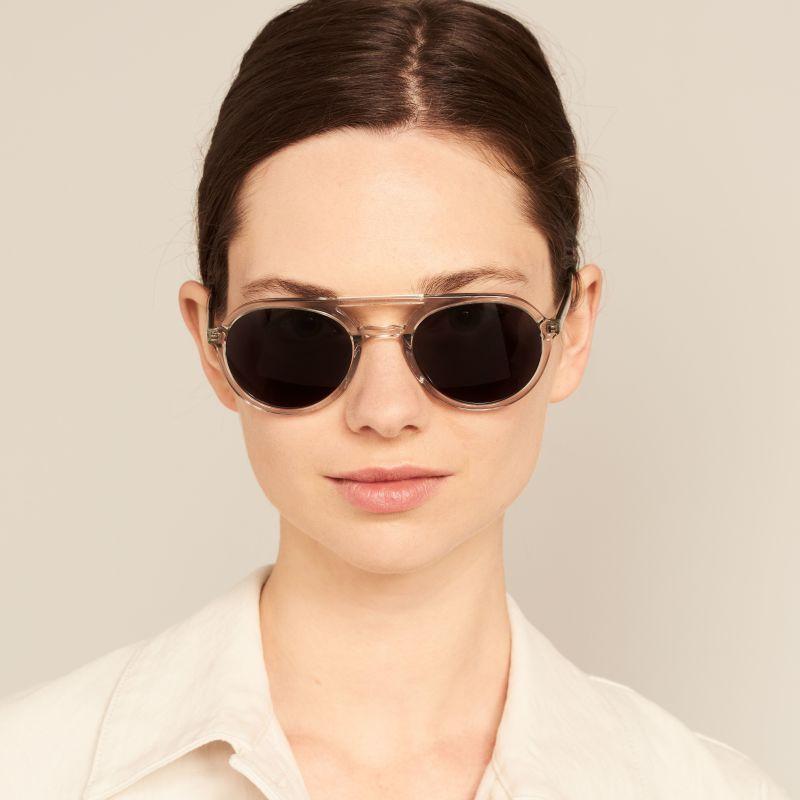 Ace & Tate Sunglasses |  acetate in Clear, Grey