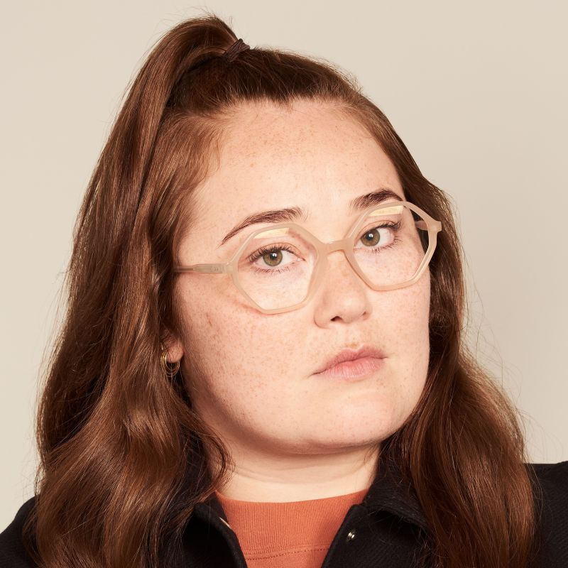 Ace & Tate Glasses |  acetate in Beige, Brown, Yellow