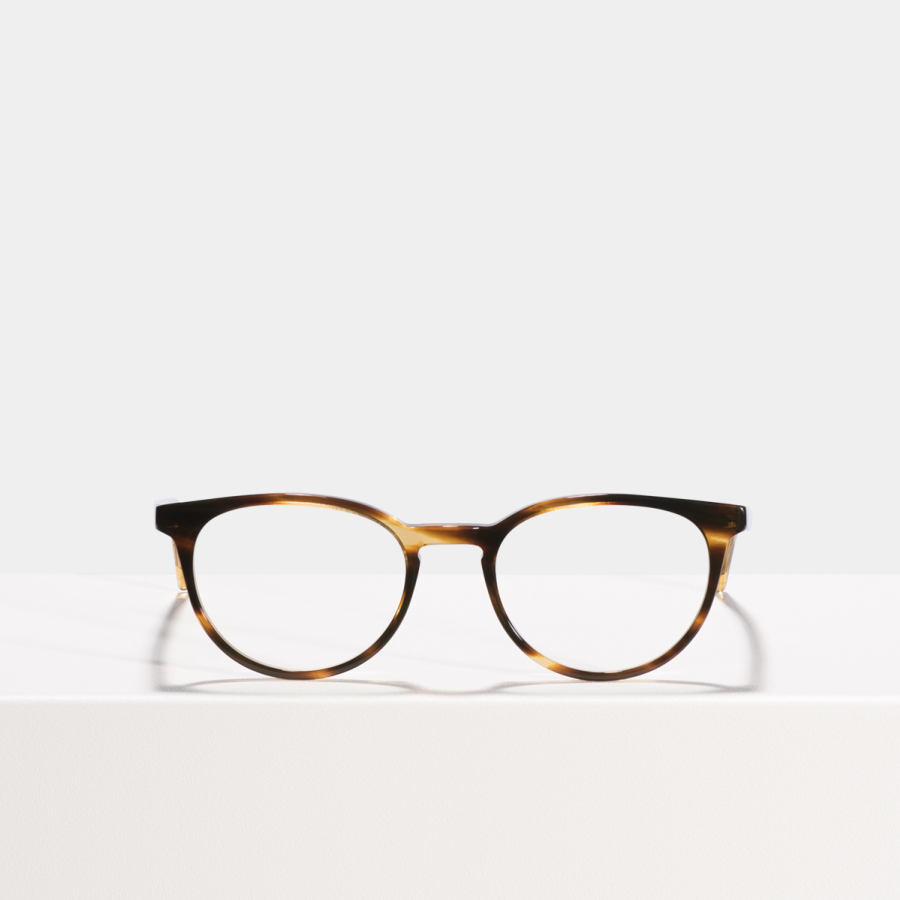 Ace & Tate Glasses |  acétate in Marron, Orange