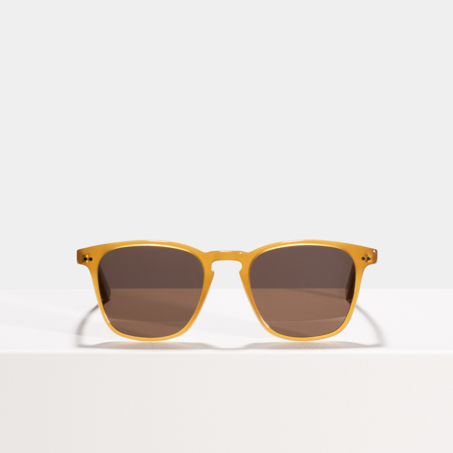 Ace & Tate Sunglasses | square acetate in Brown, Orange, Yellow