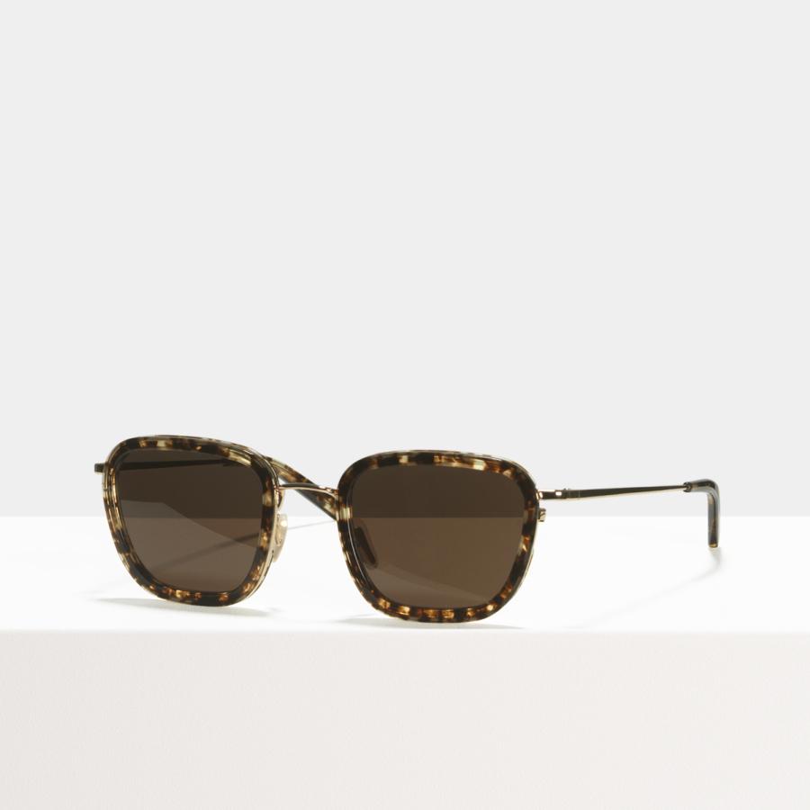 Ace & Tate Sunglasses | square combi in Brown