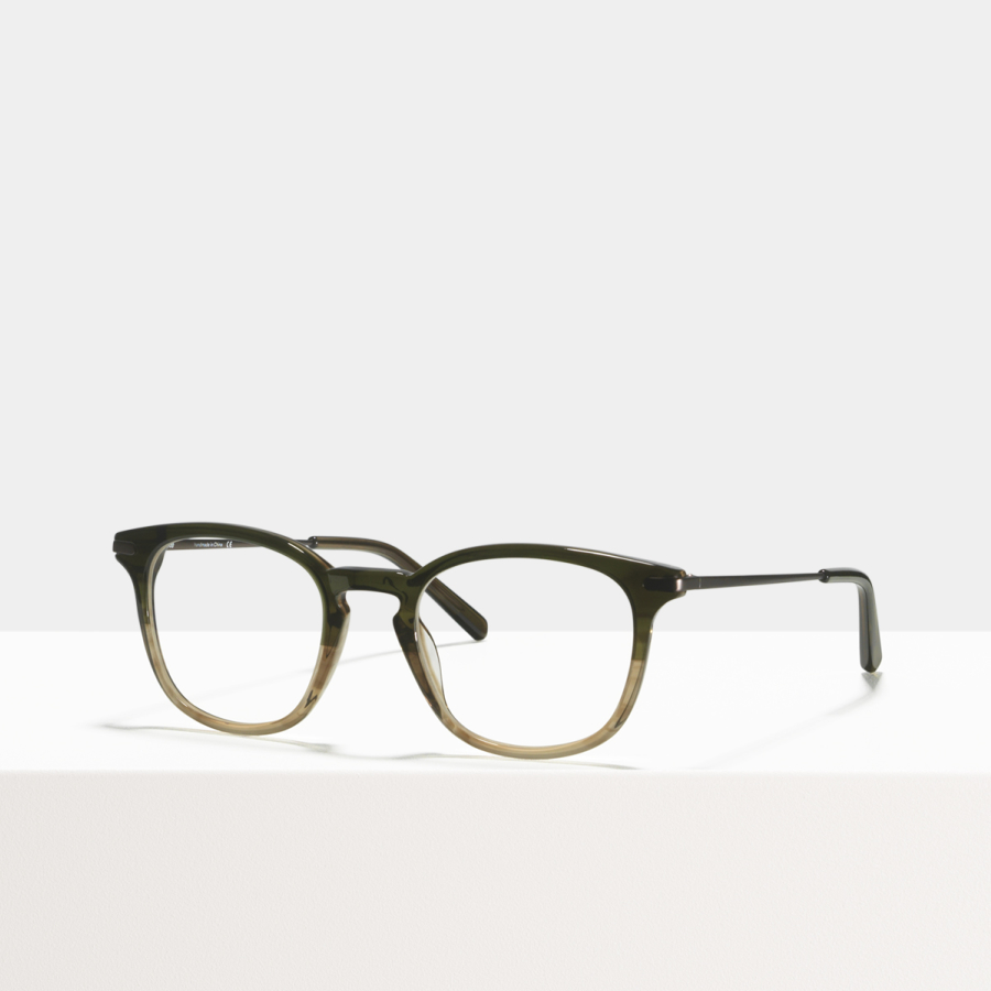 Ace & Tate Glasses | square acetate in Brown, Green