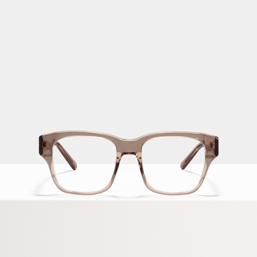 Ace & Tate Glasses | carrée acétate in Rose