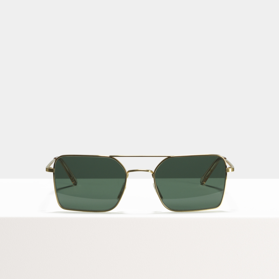 Ace & Tate Sunglasses | rectangle metal in Gold