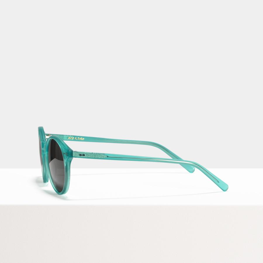 Ace & Tate Sunglasses | round acetate in Blue, Green