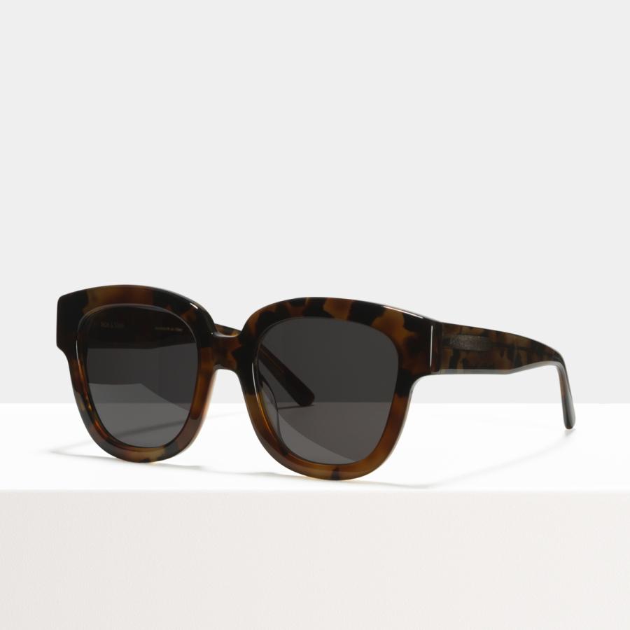 Ace & Tate Sunglasses | square acetate in Brown