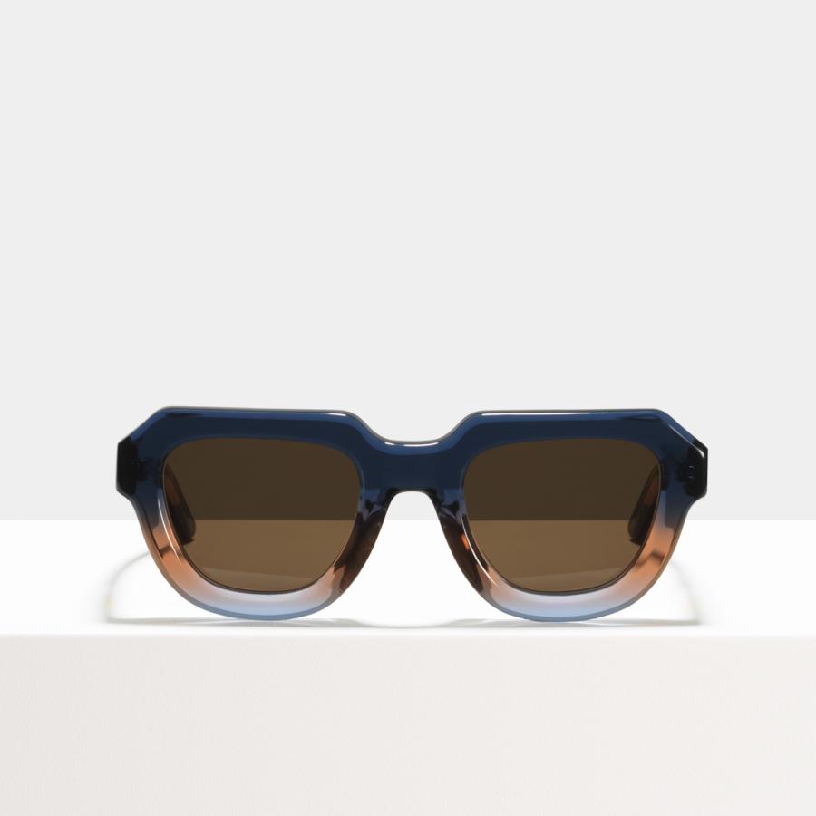 Ace & Tate Sunglasses | round acetate in Blue, Pink