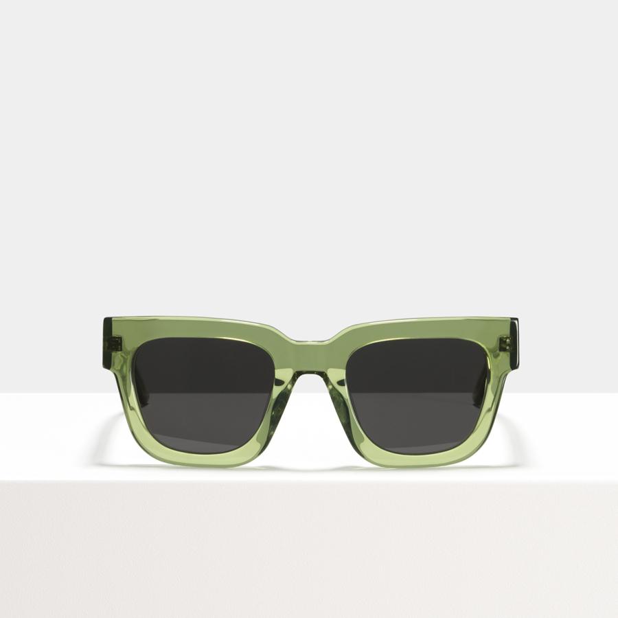 Ace & Tate Sunglasses | square acetate in Green