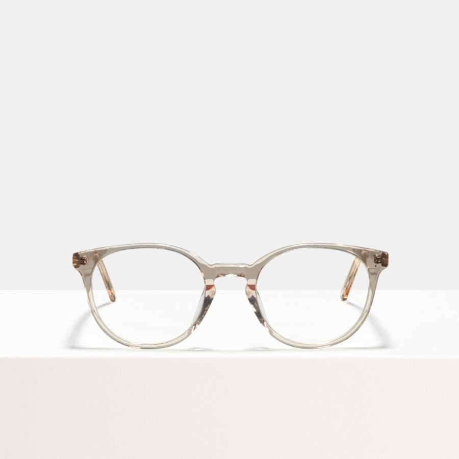 Ace & Tate Glasses | round acetate in