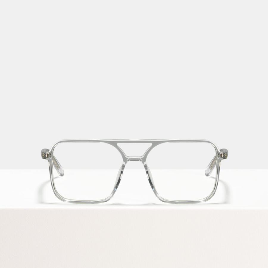 Ace & Tate Glasses | square bio acetate in