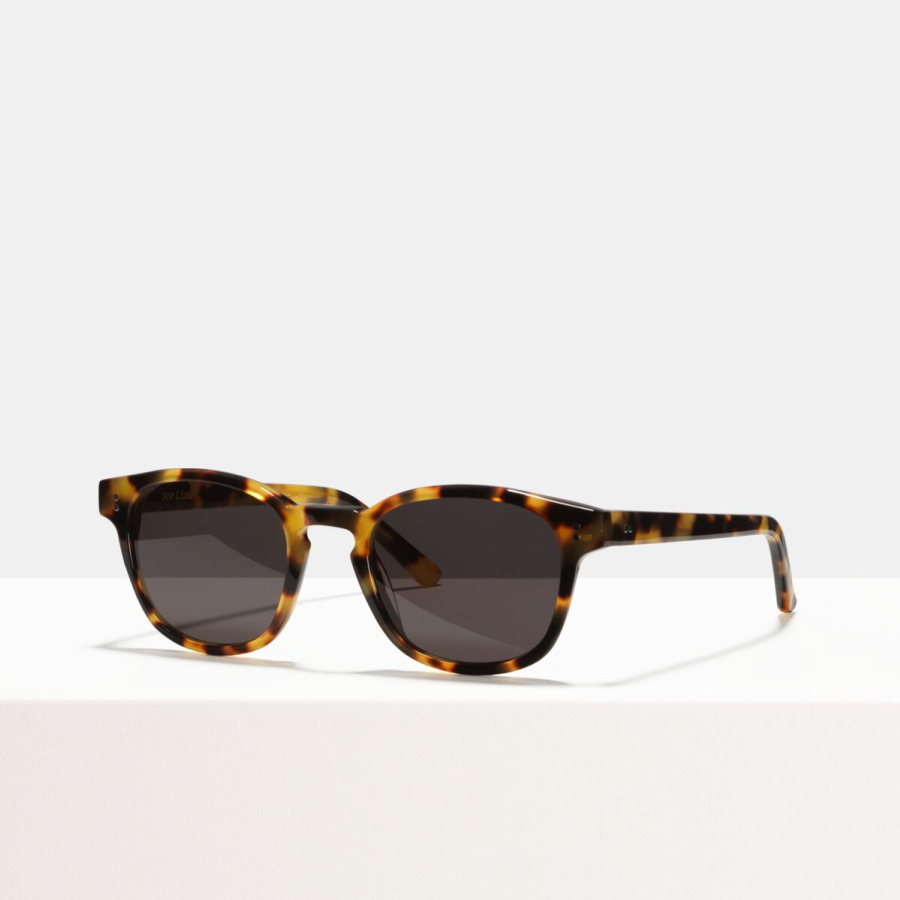 Ace & Tate Sunglasses | square bio acetate in Black, Yellow