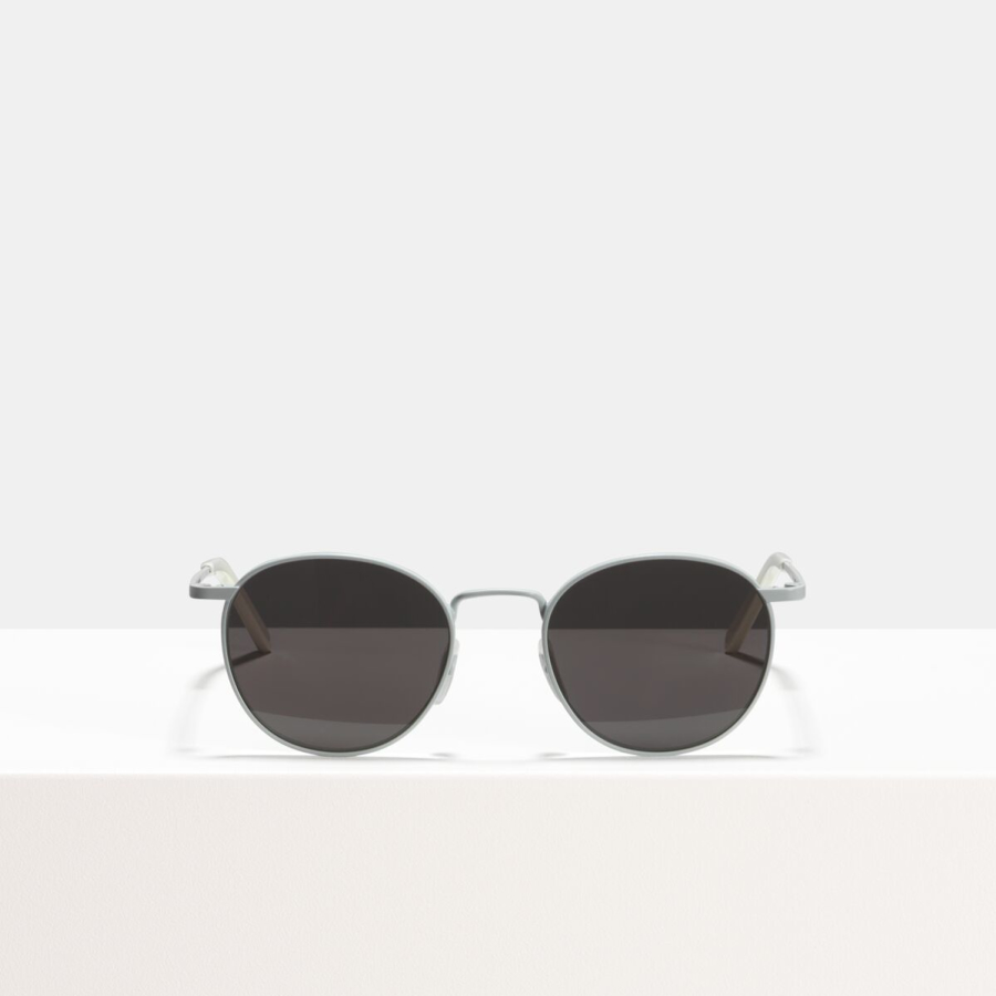 Ace & Tate Sunglasses | round metal in White